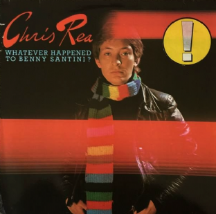 Chris Rea ‎- Whatever Happened To Benny Santini? (LP) (VG/G-)